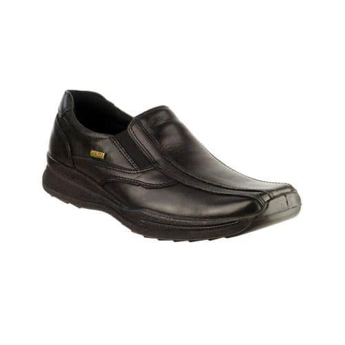 Cotswold Naunton Slip On Mens Shoes Black